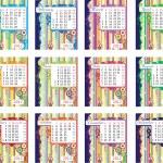 Calendar for 2012 — Stock Vector #6599581