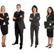 Group of successful business - Stockfoto