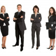 Stock Photo: Group of successful business