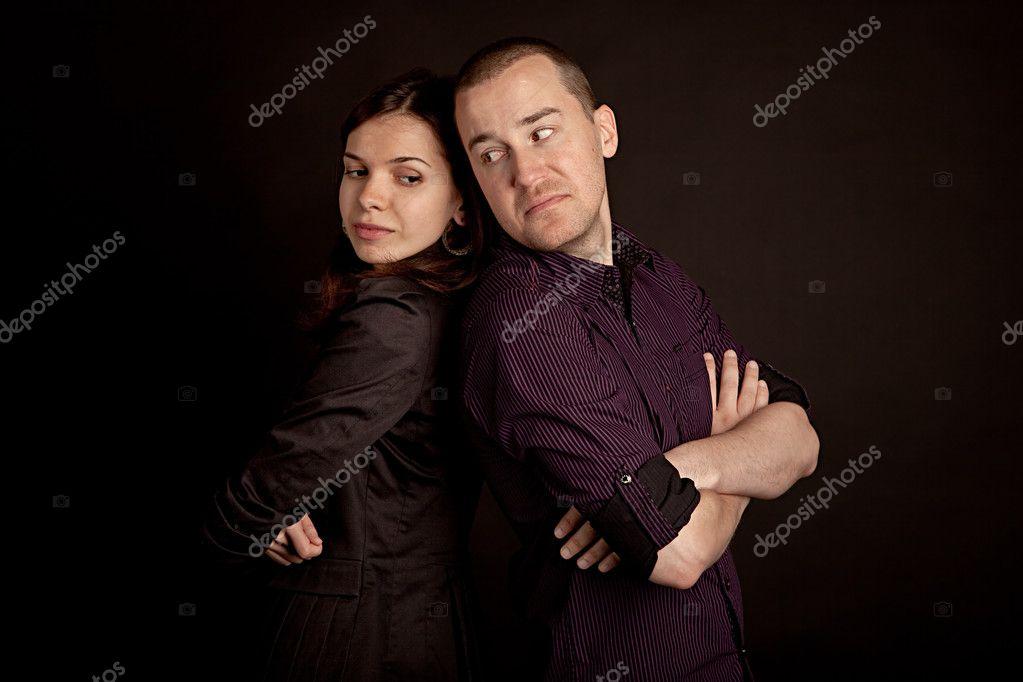 男人和女人 ― 图库照片