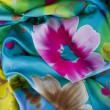 Silk scarf — Stock Photo