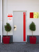 Warehouse entrance — Stock Photo