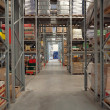 Foto Stock: Warehouse interior