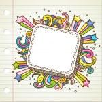 Burst doodle — Stock Vector #5570247