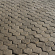 Stock Photo: Stone block paving