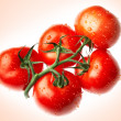 Ripe tomato — Stock Photo