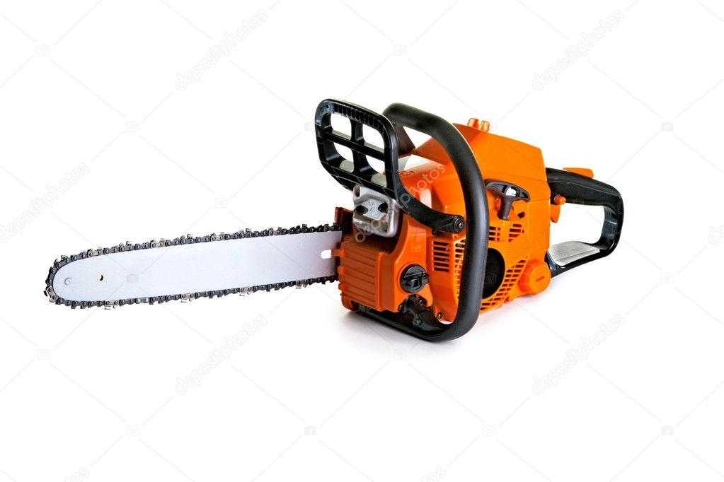 Chainsaw - professional petrol chain saw — Stock Photo #6683839