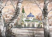 Wosnessenski kathedrale, russland — Stockfoto