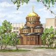 Cathedral of Nevsky, Russia — Stock Photo