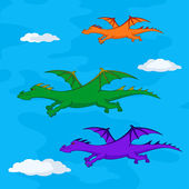 Dragons flies — Stockfoto