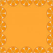 Background, oranges — Stock Photo