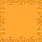 Background, oranges — Stock Photo