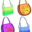 Stock Photo: Female handbags