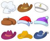 Hats, set — Stock Photo