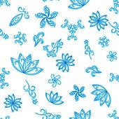 Bezešvé pozadí abstraktní modré — Stock fotografie