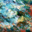 Stock Photo: Abstract background, oil paints