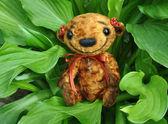 Teddy bear Niusia — Stock Photo