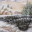 Winter Siberian landscape - Photo