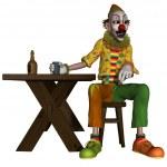 Comic Clown — Stock Photo #6664710