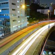 Highway light trails — Stock Photo #5398474