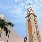 Clock tower in Tsim Sha Tsui , Hong Kong — Stock Photo #5398523