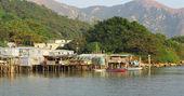 Tai O fishing village in Hong Kong — Стоковое фото