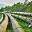 Industrial pipeline - Stockfoto