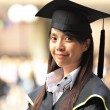 Stock Photo: Girl graduation
