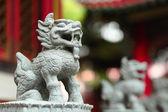 Chinese draak standbeeld — Stockfoto
