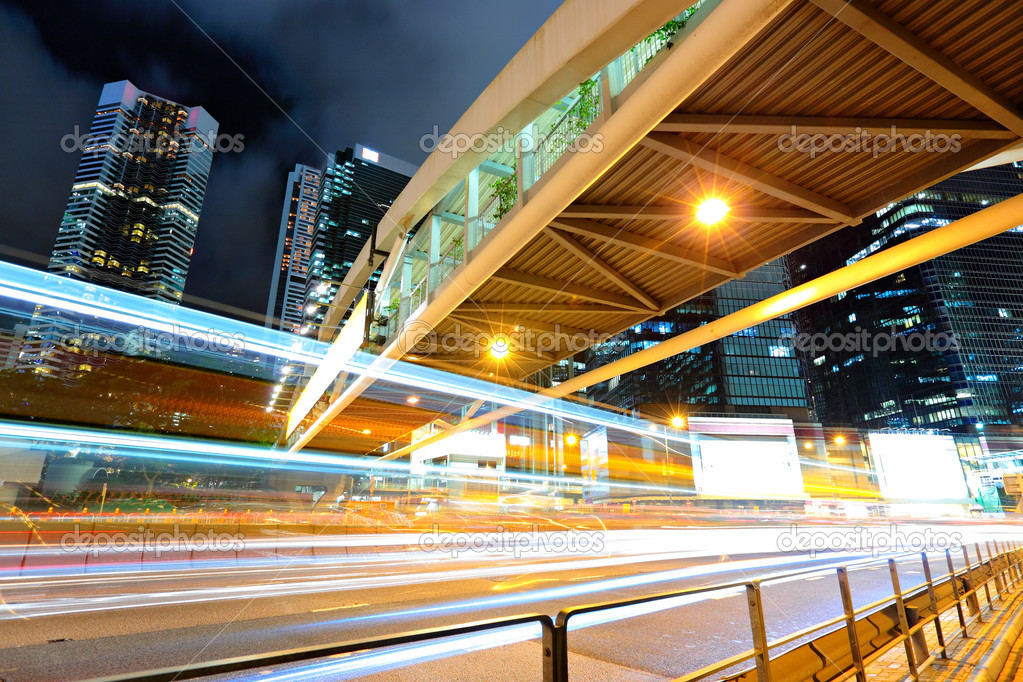 Traffic at night — Stock Photo #5936722