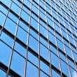 Office building glass wall - Stock fotografie