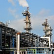 Stock Photo: Gas processing factory