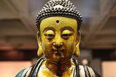 Portrait of a Buddha statue — Stock Photo