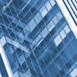 Office building glass wall — Stock Photo #6084159