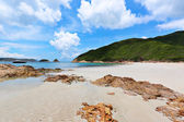 Sai Wan beach in Hong Kong — Foto Stock