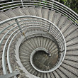 Stock Photo: Beautiful spiraling stairs