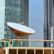 Satellite dishes - Stockfoto