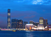 Kowloon at night — Stock Photo