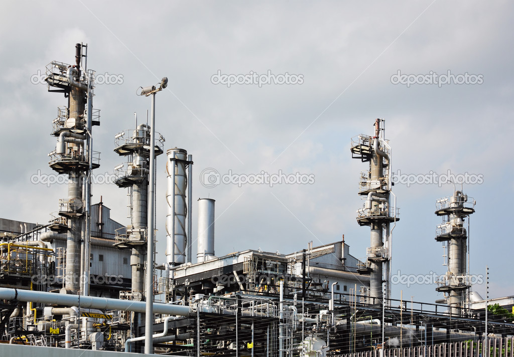 Gas industry — Stock Photo #6366261