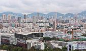 Hong Kong crowded buildings — Stock Photo