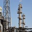 Gas processing factory — Stockfoto #6521341