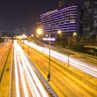 Stock Photo: Night traffic