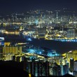 图库照片: Night view of Hongkong