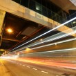 Light trails in city at night — Stock Photo #6526871