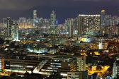 Hong Kong downtown at night — Zdjęcie stockowe