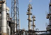 Fabryka przetwarzania gazu — Zdjęcie stockowe