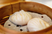 Shrimp dumplings , dim sum — Stock Photo