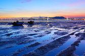 サンセット海岸 — ストック写真