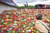 Latvia, Riga. May, 9th 2011. Celebrating of day of the Victory o — Стоковое фото