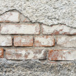 Brick wall without plaster — Stock Photo